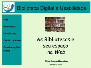 Biblioteca Digital e Usabilidade
