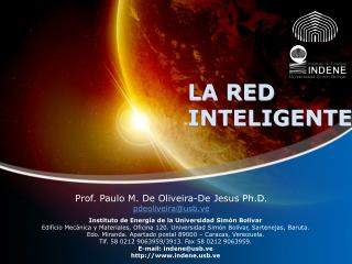LA RED  INTELIGENTE