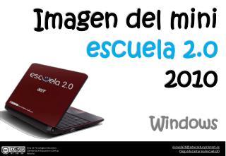 Imagen del mini   escuela 2.0 2010  Windows