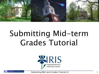 Submitting Mid-term Grades Tutorial