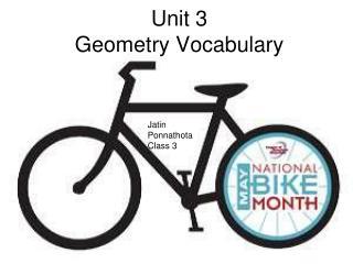 Unit 3  Geometry Vocabulary