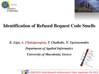 Identification of Refused Bequest Code Smells