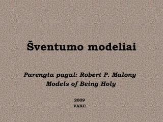 Šventumo modeliai