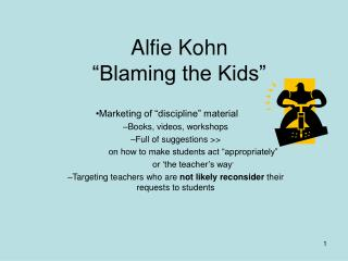 alfie kohn and youth sports American alfie kohn running is the basis of so many great sports so if our children catch the running bug early, they are more likely to stick to it debate: is competition good for kids is competition a good, or a bad.