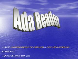 Ada Reader