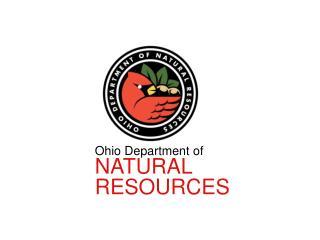 Ohio Department of NATURAL  RESOURCES