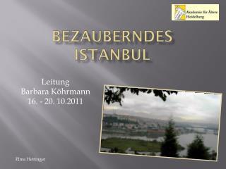 Bezauberndes Istanbul
