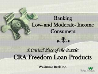 Banking  Low- and Moderate- Income Consumers