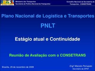 Brasília, 25 de novembro de 2009