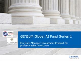 GENIUM Global AI Fund Series 1