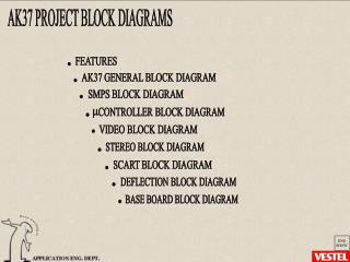 AK37 PROJECT BLOCK DIAGRAMS