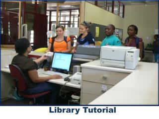 Library Tutorial