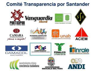 Comité Transparencia por Santander