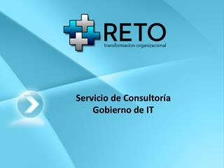 Servicio de Consultoría Gobierno de IT