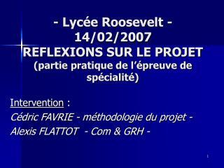 - Lyc e Roosevelt - 14