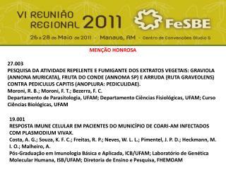 MENÇÃO HONROSA 27.003