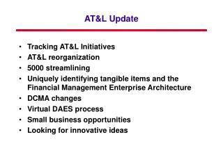 ATL Update