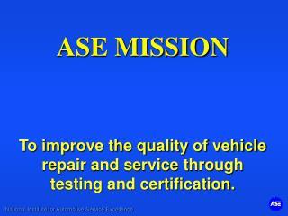 Program Certification Process