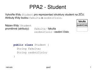 PPA2 - Student