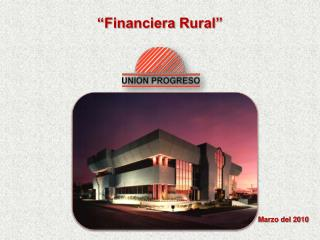 """Financiera Rural"""