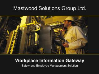 Mastwood Solutions Group Ltd.