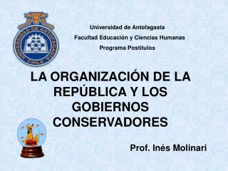 Universidad de Antofagasta     Facultad Educaci n y Ciencias Humanas  Programa Post tulos