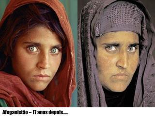 Afeganistão – 17 anos depois.....