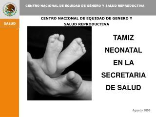 CENTRO NACIONAL DE EQUIDAD DE GENERO Y SALUD REPRODUCTIVA