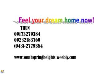 THUN 09173279384 09232183769 (043)-2779384 southspringheights.weebly