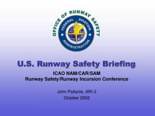 U.S. Runway Safety Briefing