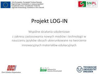 Projekt LOG-IN