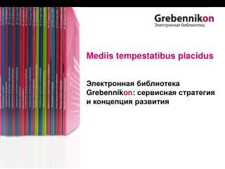 Mediis tempestatibus placidus Электронная библиотека  Grebennik on :  сервисная стратегия