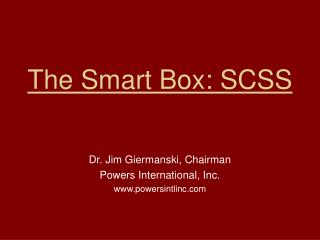 The Smart Box: SCSS