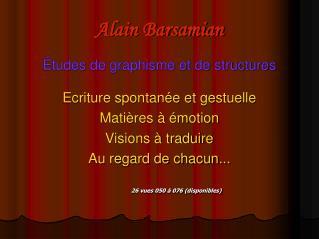 Alain Barsamian