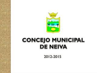 CONCEJO MUNICIPAL DE NEIVA