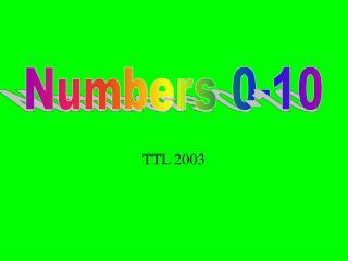 TTL 2003