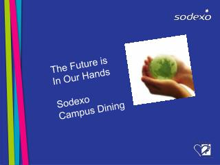 The Future is In Our Hands  Sodexo Campus Dining