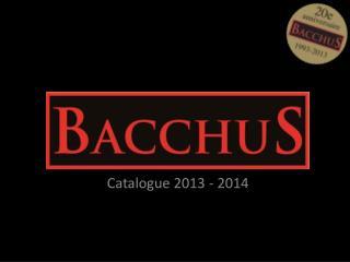 Catalogue 2013 - 2014