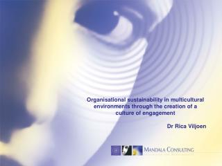Organisational sustainability in multicultural  environments through the creation of a
