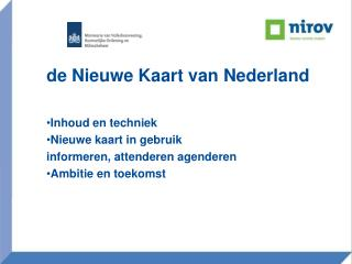 de Nieuwe Kaart van Nederland