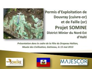 Présentation dans le cadre de la Fête du Drapeau Haïtien,