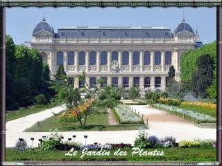 Le Jardin des Plantes audio ok alain chantelat