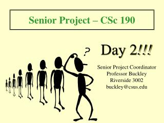 Senior Project – CSc 190