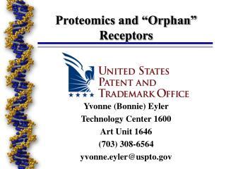 """Proteomics and """"Orphan"""" Receptors"""