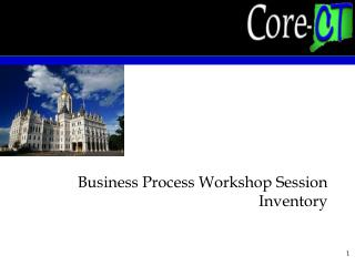 Business Process Workshop Session Inventory