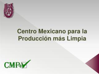 Centro  Mexicano para  la  Producción más Limpia