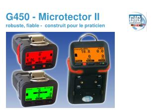 G450 - Microtector II robuste, fiable -  construit pour le praticien