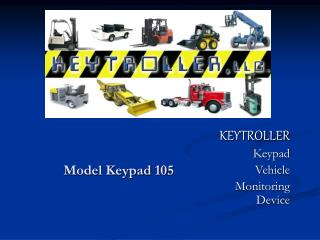 Model Keypad 105