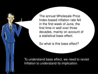 To understand base effect, we need to revisit Inflation to understand its implication.