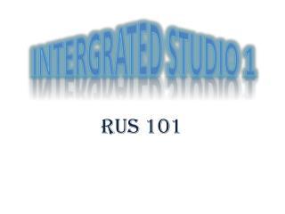 RUS 101